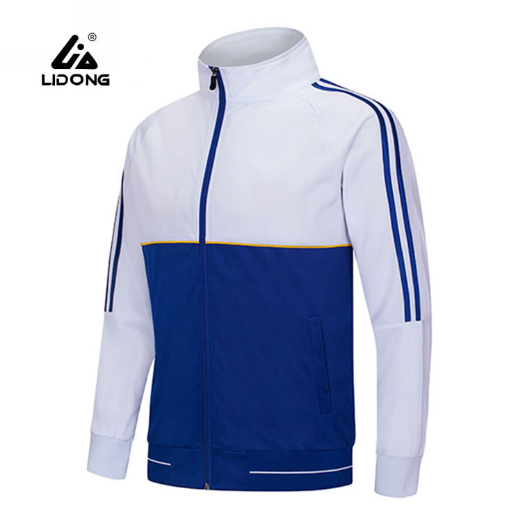 China Factory Custom New Tracksuits For Men Slim Fit Polyester Tracksuit