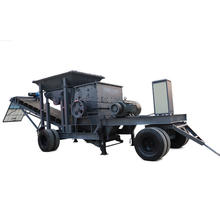 Portable mounted primary crusher in the ceramics quarry plant peru with large capacity
