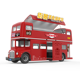 JEKEEN fast food truck mobile food cart trailer hot dog vending cart ice cream push cart of Knight