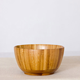 Promotional Unfinished Wooden Grain Tableware Food Serving Bowls for Kitchen Use