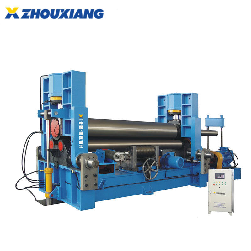 3 rollers hydraulic steel plate rolling machine
