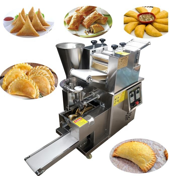 USA/Canada 110v 220v 240v 12/15cm automatic big size empanada machine/large dumpling samosa making machine