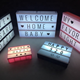 DIY Cinema Lightbox words A4 Battery Powered Light Box with Letters for home decoration