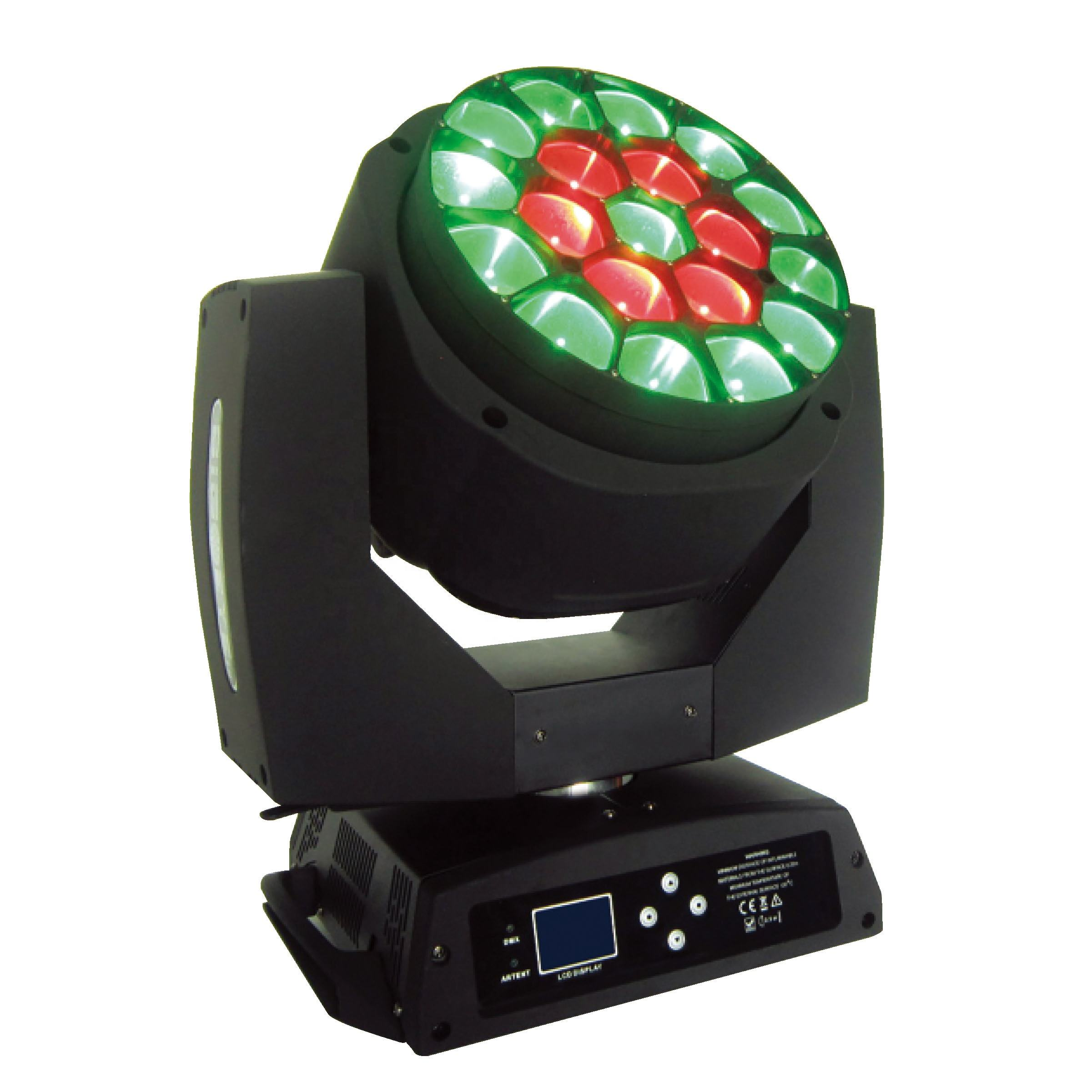 Grace Professional Stage Light 19*15W 4in1 Rgbw Night Club Beam