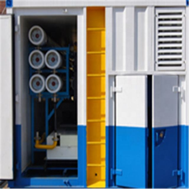 Containerized RO seawater desalination plant Salt water treatment system seawater desalination machine