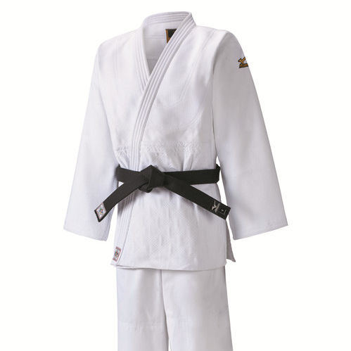 High quality 100% cotton jujitsu gi New Unisex Karate Suits 750g white judo suit IJF