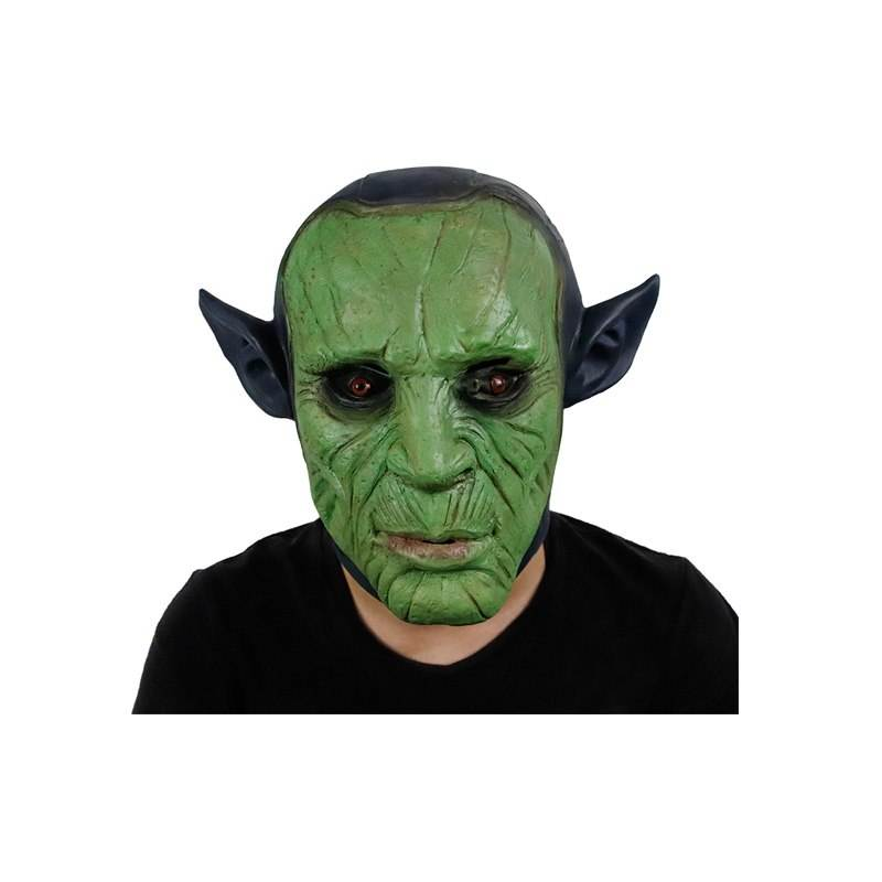 Molezu 2020 New Halloween Marvel Cruise Head Mask Latex Rubber Full Headgear Props for Costume Masquerade Party