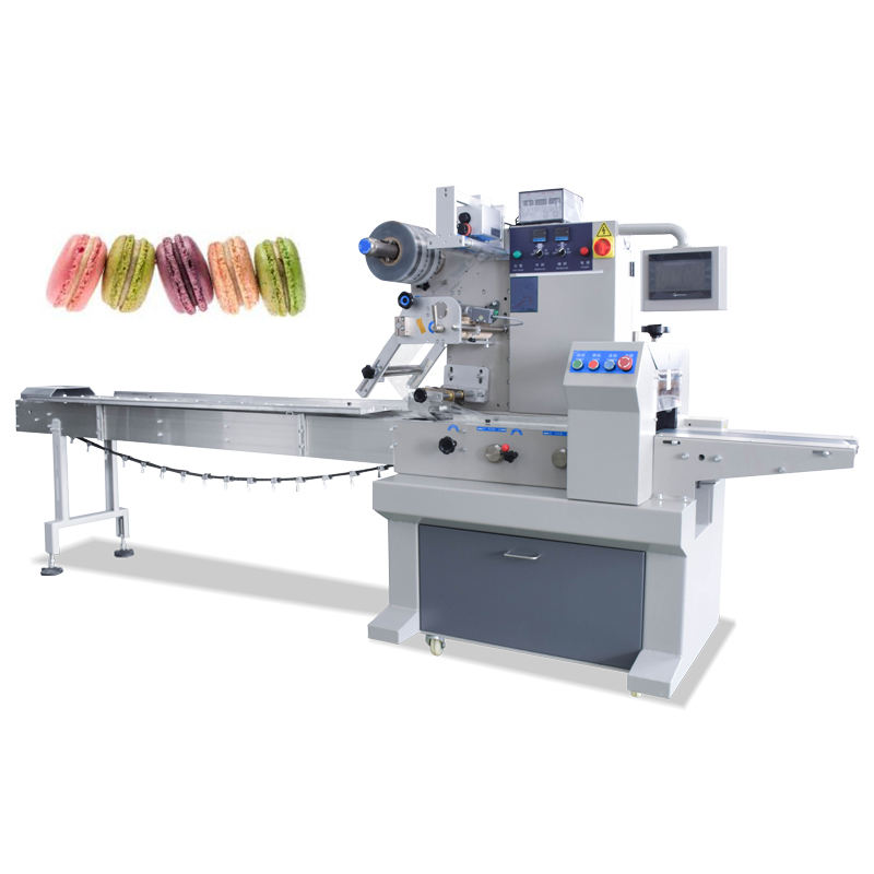 New version High quality Multi functional ice cream/ macaron/toast packing machine