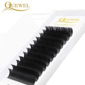 Qingdao QUEWEL Wholesale Volume Lash Extensions High Quality Classic Individual Eyelash Extension Easy To Graft Classic Lashes