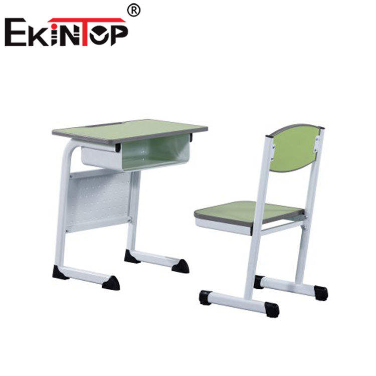 Ekintop school classroom furniture for student study bench chairs writing pad
