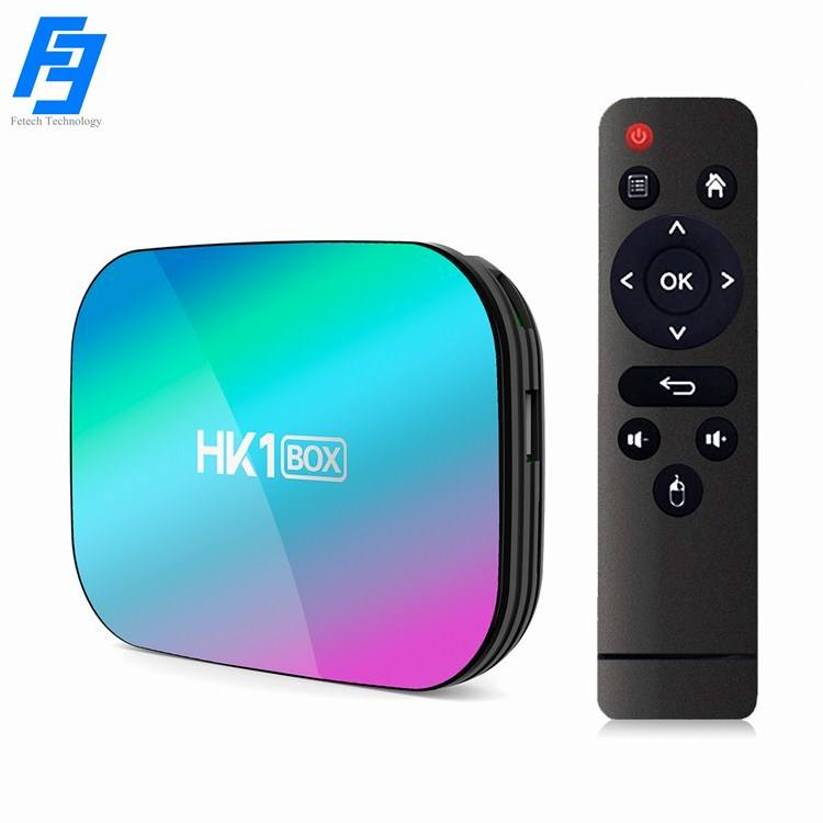 Android 9.0 <span class=keywords><strong>Tv</strong></span> <span class=keywords><strong>Box</strong></span> HK1 Doos 4Gb Ram/32Gb Rom S905X3 64-Bit Quad Core 2.4G/5G Dual-Band Wifi Smart <span class=keywords><strong>Tv</strong></span> <span class=keywords><strong>Box</strong></span> 3D Hd 8K 4K H.265