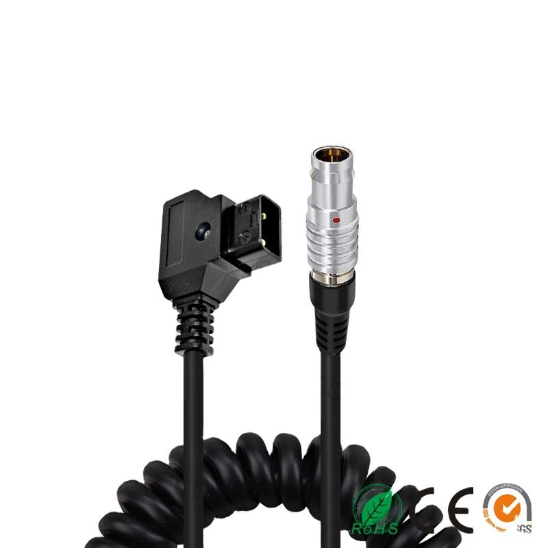 Power Cable D-Tap to 4 Pin Female for camera Canons C300 Mark II C100 C200 C500