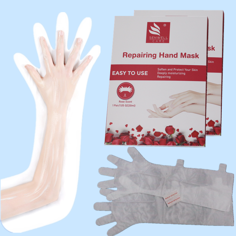 Korean Organic Milk Healing Exfoliating Moisturizing Collagen Hand Mask
