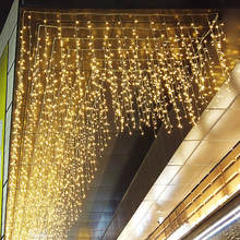 Twinkle Star LED string light window Curtain christmas Light Wedding Party Home Garden Bedroom Outdoor Indoor Decorations