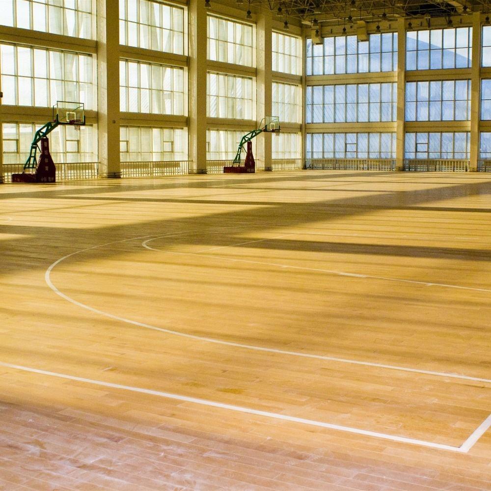 Maple Hardwood Indoor Used Sport Basketball Court Wood Flooring