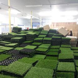 ARTIFICAL GRASS  GARDEN DECKING TILES 30CM*30CM*2.1CM