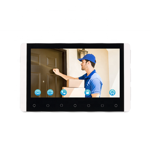 Hot Dijual 2.4G Hz Digital Aman House Villa Video Pintu Ponsel Intercom Sistem
