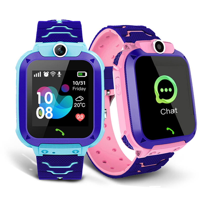 S16 Kids Smart mobile watch phones smart android Front Camera SOS Positioning Children 2020 Smartwatch girl watch with phone