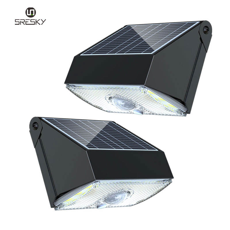waterproof outdoor high power 20 led motion sensor solar security light for home