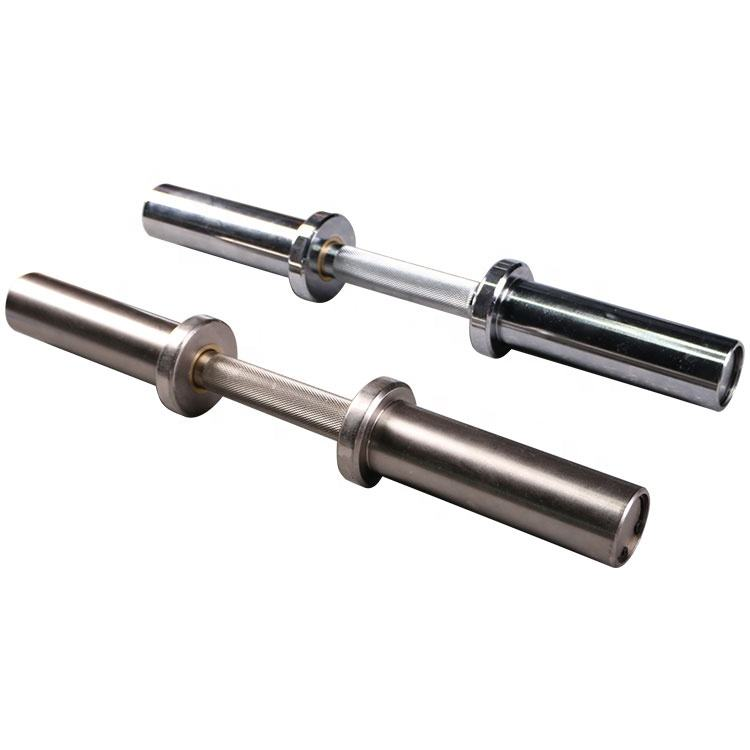 OKPRO Gym Fitness Chromed Dumbbell Handles