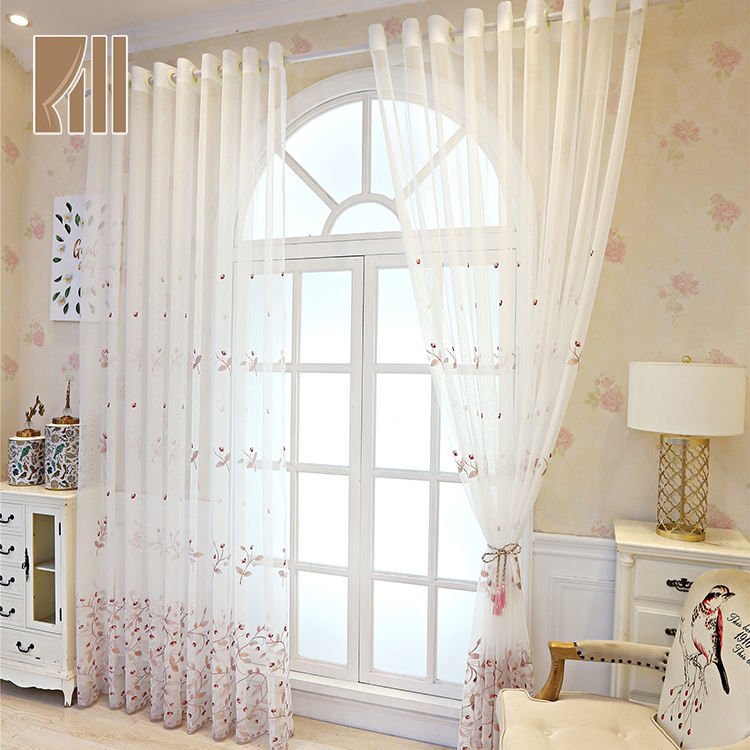 Bright polyester wholesale turkey style designs curtain for hotel room