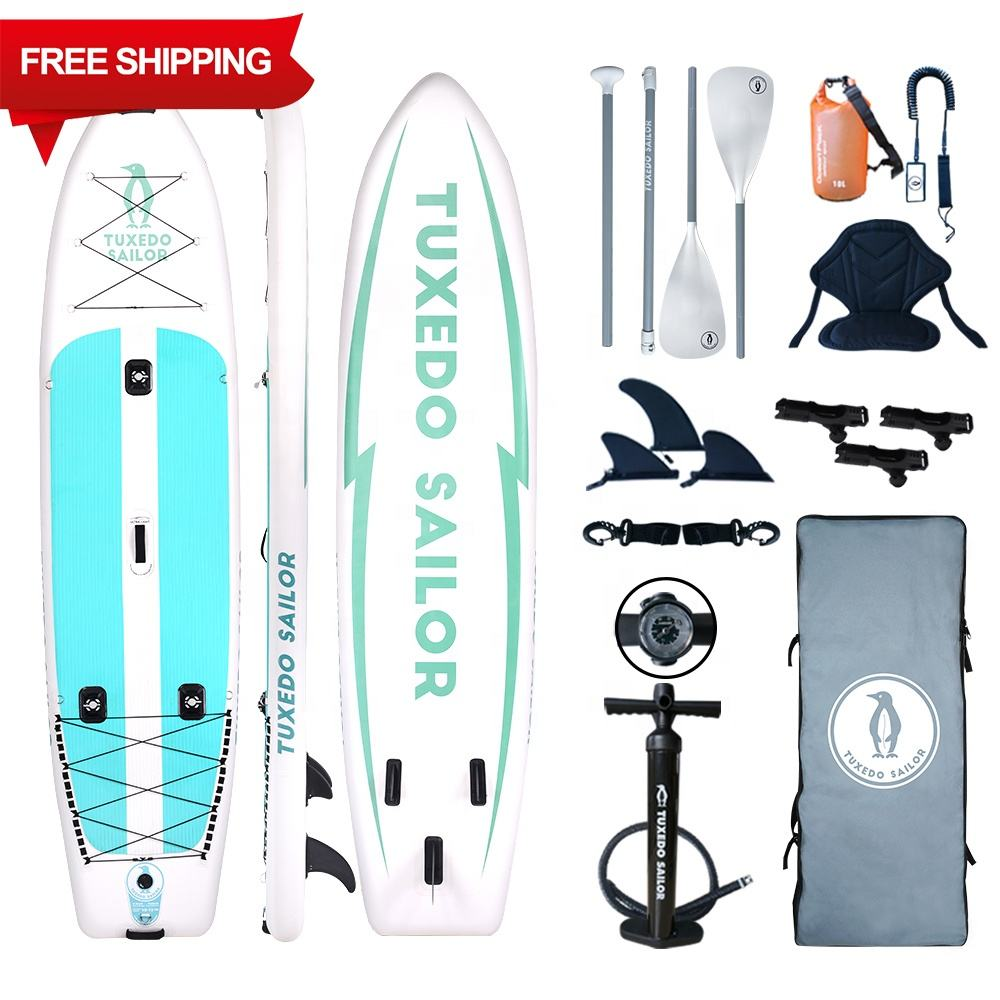 Gratis Verzending Stand Up Paddle Surfplank Opblaasbare Vis Board Sup Boards Opblaasbare Vissen Stand-Up Paddle Board