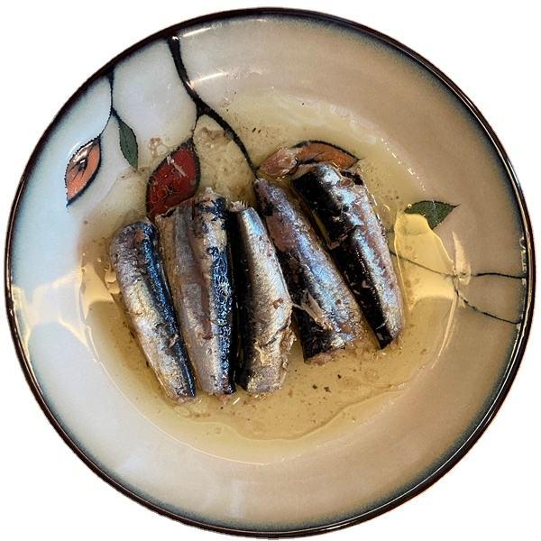 Canned Sardine In Oil Production Plant Sardines Olive Two Layers 155 Gr India Ghana Food Frozen Fish 125 Seafood