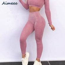 Custom Women Seamless Private Label Leggings Fitness And Sexy Yoga Pants