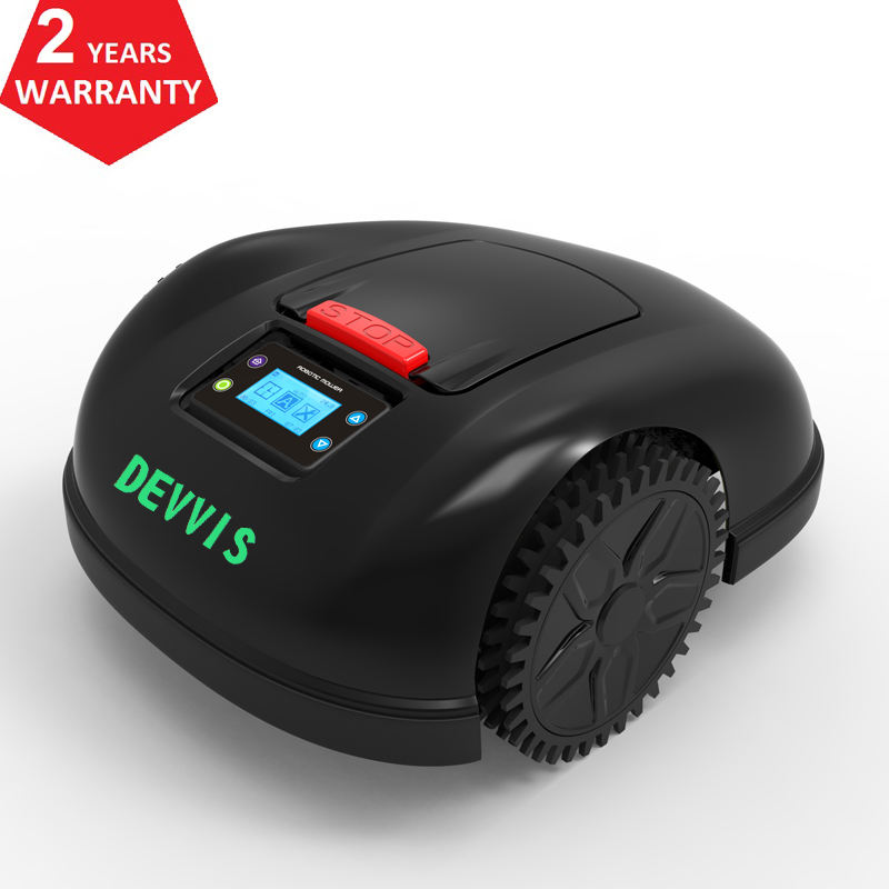 DEVVIS WiFi App control gyroscope navigation automatic lawn robot mower E1600T for Big Lawn