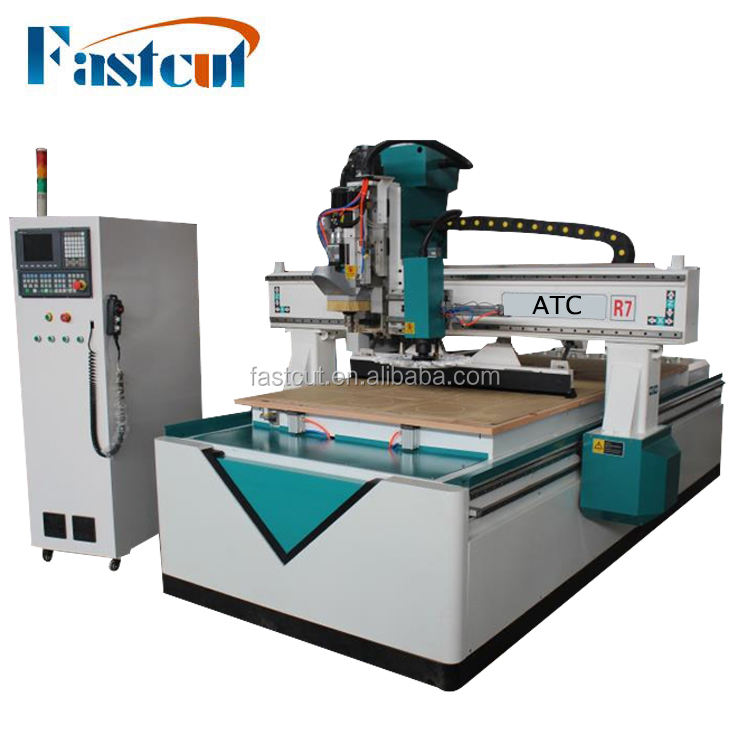 Cnc router atc/alibaba china cnc router 1325 atc wood process machinery for trading company/4x8 ft Linear ATC 1325 Cnc Router