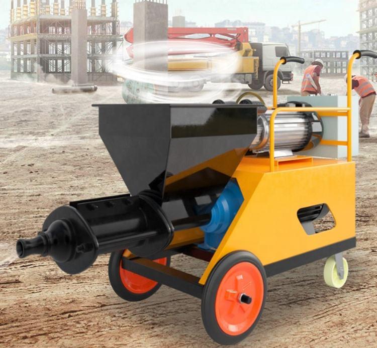 Higher Efficiency Cement Plastering Mortar Spray Machine