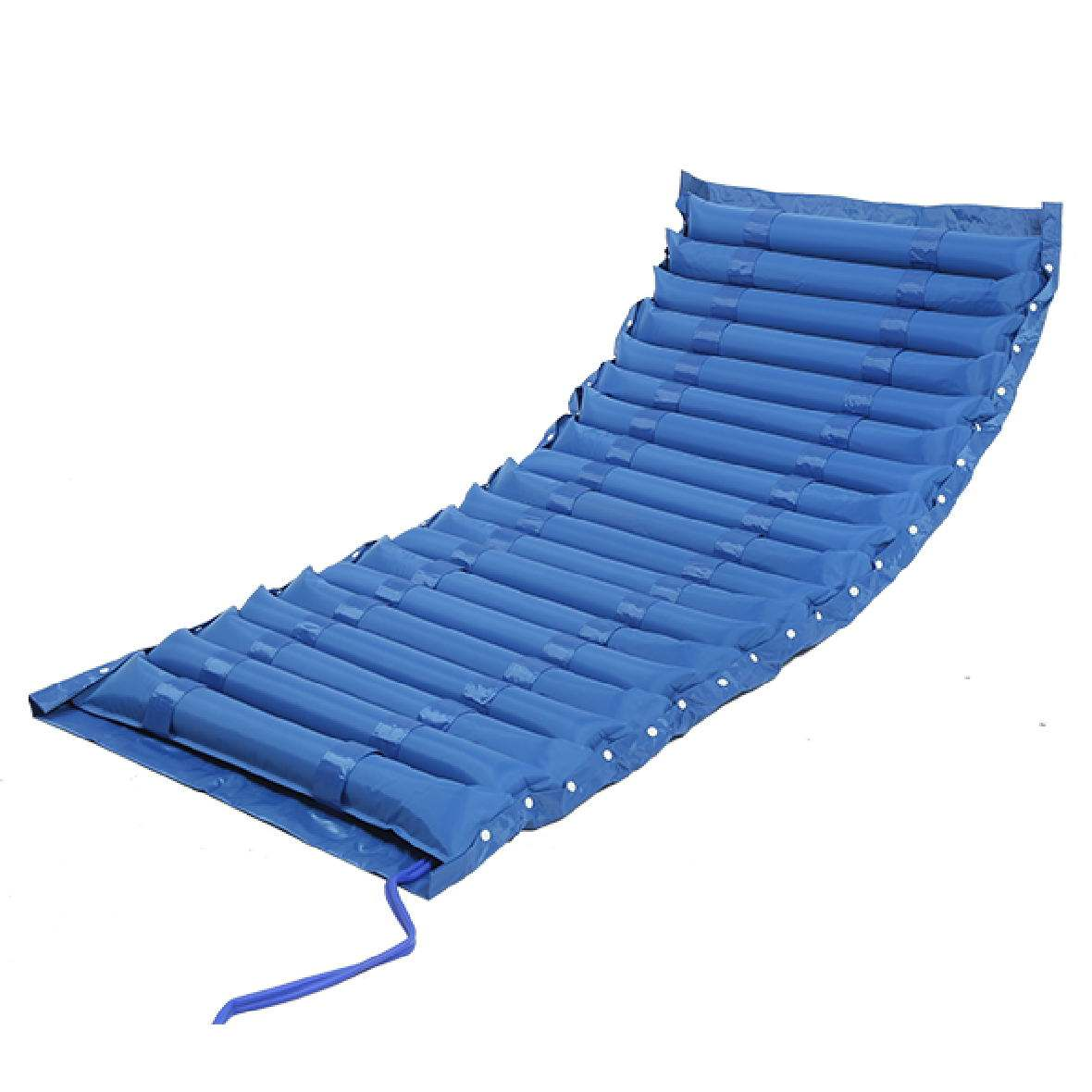 Striped Wave Alternating Inflatable Pressure Cushion with Pump Medical Anti-Decubitus Air Mattress for Hospital Bed Patients