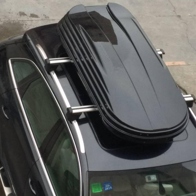 Car Roof Rack Box Top Carrier Car Cargo Box Travel Extra Storage