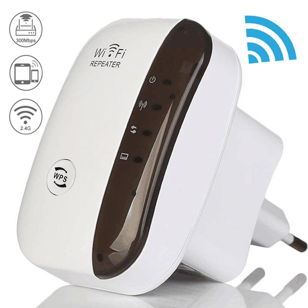 واي فاي <span class=keywords><strong>اللاسلكية</strong></span> مكرر Wifi المدى موسع جهاز التوجيه واي فاي مكبر صوت أحادي 300Mbps معزز Wi-Fi 2.4G Wi Fi Ultraboost نقطة الوصول
