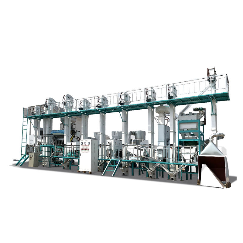 30-40 Tons per day complete set rice mill machine fully auto mini rice mill plant Rice Mill Machine In Surinam