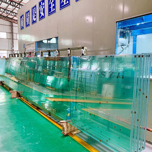 toughened laminated glass manufacturer building safety shatterproof PVB film clear tempered laminating glass laminas de vidrio