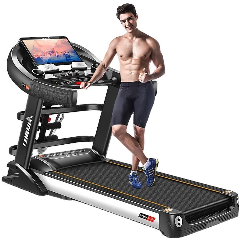 Running machine Home fitness small folding compact treadmill