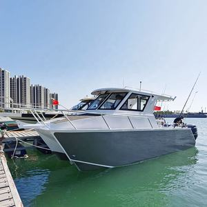 SKC790 Twin Hull Deep V Aluminium Catamaran Passenger Fast Ferry Fishing Boat for sale USA