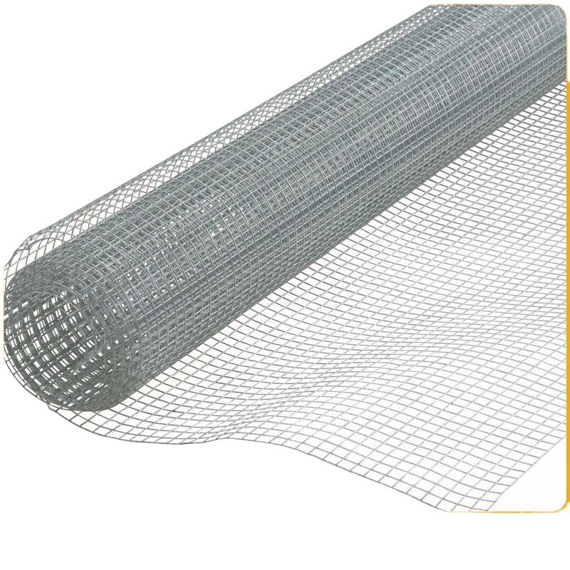 Europe Standard Galvanized Iron Wire Mesh Fence Welded Woven Iron Fencing Net Iron Wire Mesh