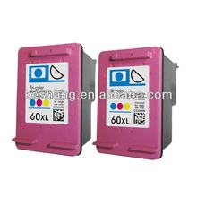 NEW Compatible ink cartridge for hp 60 for Deskjet F2560 F2568 cheap ink cartridge printer
