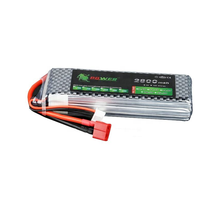 Factory Direct Wholesale 3S 25C 2800MAH RC Lipo Battery 11.1V Pack For Radio Control Drone Toys