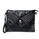 Women Messenger Bags Skull Rivet Mini Clutch Envelope Crossbody Shoulder Bag