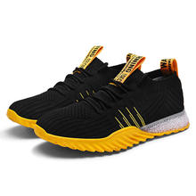 zapatos deportivos sneakers Men Breathable Running Shoes Fashion Outdoor Male Sports Shoe Popular Men's Casual Fly-woven