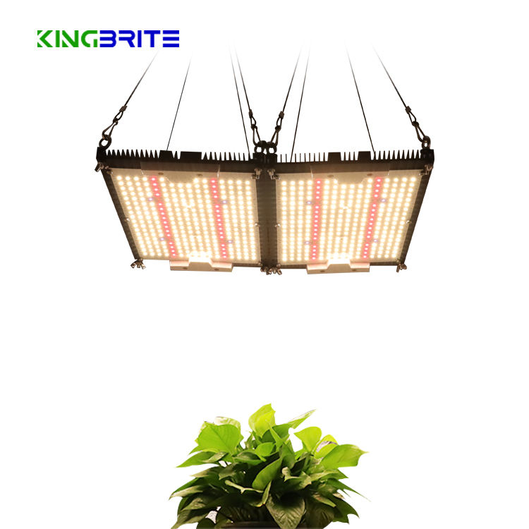 Kingbrite 240W lm301h Quantum Panel uv ir red 660 led plant grow light with separate heatsink