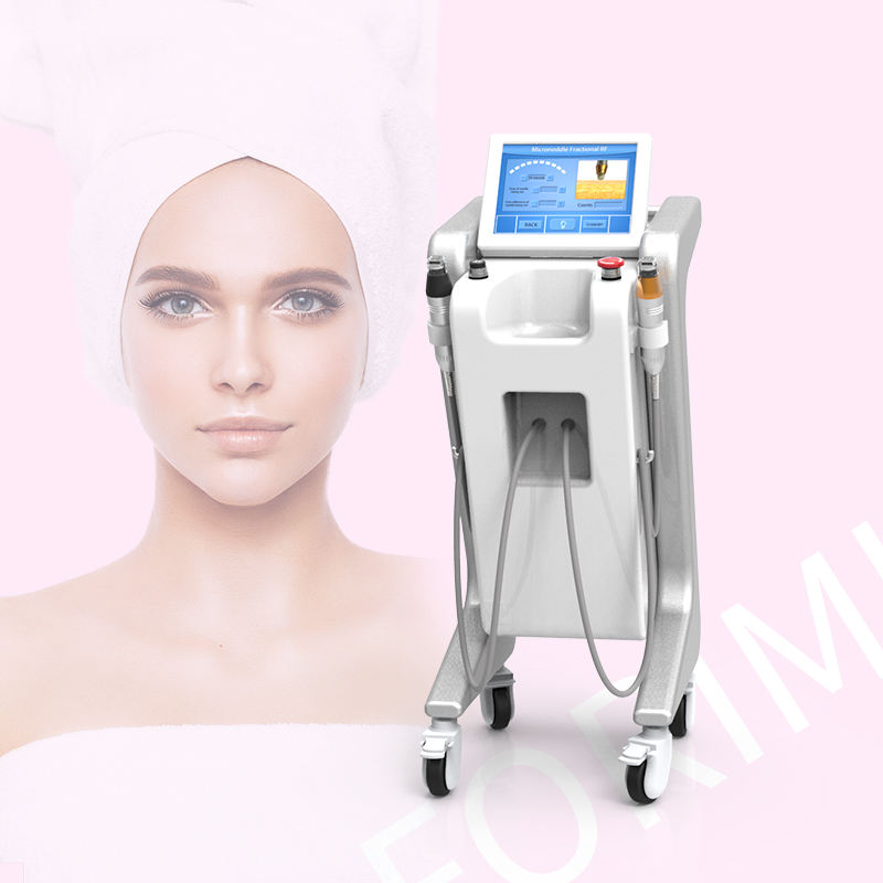Professional Non Surgical Face Lift Facial Treatment Micro Needle Factory Price Fractional Best Result Microneedle Rf Machine