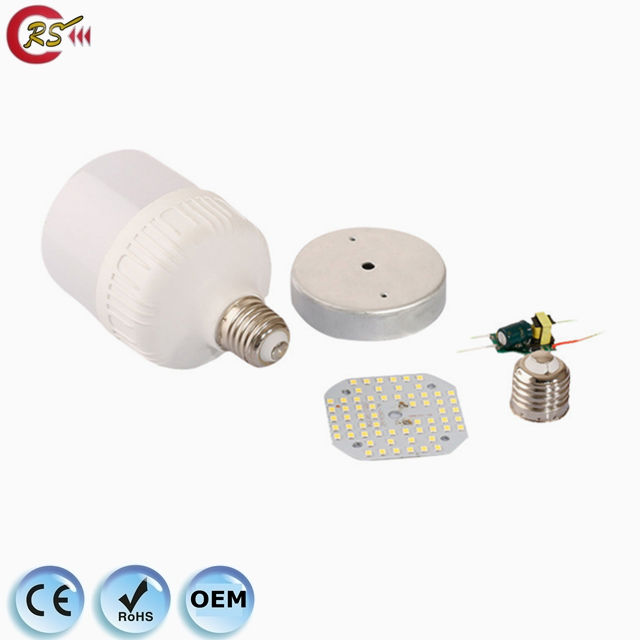 led bulb raw material 3w 5w 7w 9w 12w 15w E27 B22 led bulb light accessories SKD parts plastic aluminum housing driver PCB base