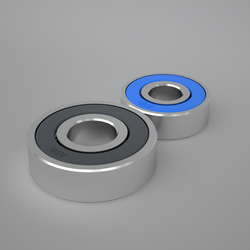 Bearings for roulettes the deep groove ball bearings made in China