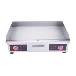 Electric flat Griddle stainless steel crepe maker electric griddle
