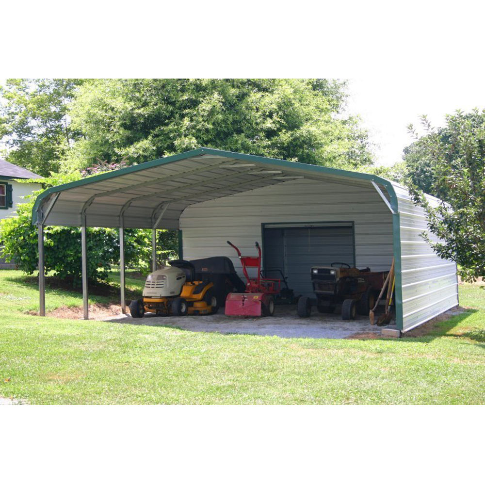 China building steel garages canopies & carports for sale