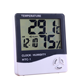 Digital thermometer hygrometer with clock alarm function memory LCD hygrometer